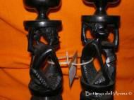 Portacandele legno- Foto Due - Candele e Porta candele